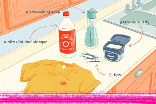 9 mẹo cực dễ làm giúp lấy bã kẹo cao su dính trên quần áo