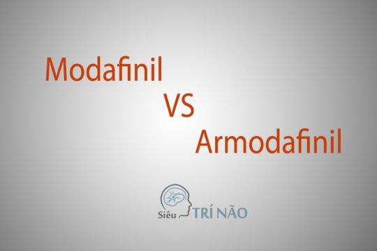 So sánh Modafinil và Armodafinil