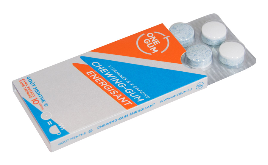 Kẹo cao su tăng lực One Gum 1