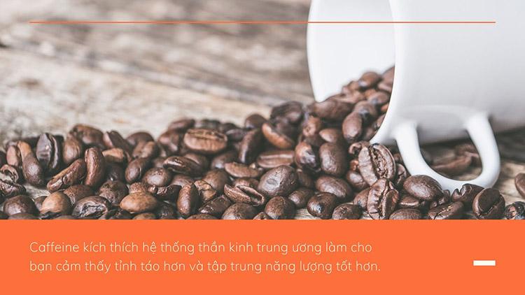Caffeine phát huy tác dụng như thế nào? 1